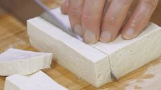 Korean Food, Feta, Dairy, Food And Drink, Cheese, Cooking, Recipes, Kitchen, Korean Cuisine