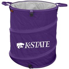 Kansas State Wildcats Ncaa Collapsible Trash Can