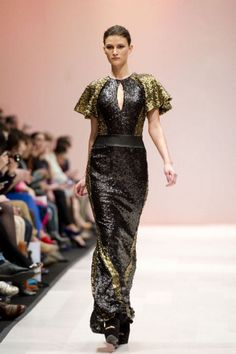 Joeffer Caoc at Toronto Fashion Week 2012 (Carlos Osorio/TORONTO STAR)