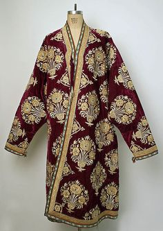 Central Asia, Robe, 19th century, silk, cotton.