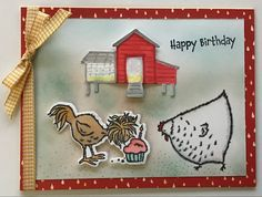 Birthday Photos, Birthday Cards, Happy Birthday, Animal Cards, My Stamp, Stamping Up, Cool Cards, Stampin Up Cards, Card Making