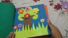 Livro sensorial de EVA#Pedagogia minha paixão.