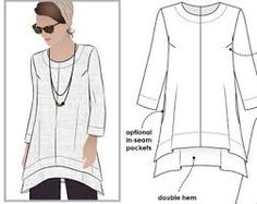 Image result for free tunic sewing patterns for women www.maycloth.com