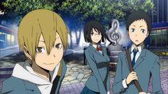 Kida Masaomi, Sonohara Anri, Ryugamine Mikado