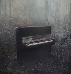 """Saatchi Art Artist Zhongwen Yu; Painting, """"There are countless civilization and art which have been created by humans. It just people are too busy to stop and enjoy them."""" #art"""