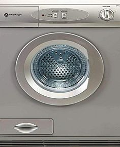 White Knight C77AS Tumble Dryer Reverse tumble action Easy installation 2 heat settings 140 minute timer Light indicating full drainage container Height: 850mm Width: 596mm Depth: 580mm (Barcode EAN = 5025761001719). http://www.comparestoreprices.co.uk/december-2016-week-1/white-knight-c77as-tumble-dryer.asp