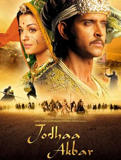 Jodhaa Akbar (Bollywood Movie / Indian Cinema / Hindi Film DVD) 2008 version of a historical Indian epic. this movie is marks the beginning of my love affair with bollywood Hrithik Roshan, Hindi Movies, Bollywood Stars, Jodhaa Akbar, Best Romantic Movies, Audio Latino, Film Streaming Vf, Movies And Series, Thinking Day