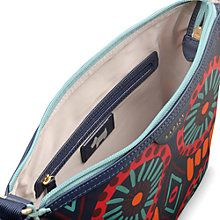 Buy Radley Summer Tribes Across Body Bag, Navy Online at johnlewis.com