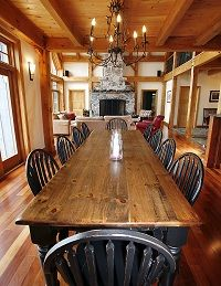 Luxury Cottage Rental in Ontario | Lulu's Repose Executive Cabin, Cottage, Chalet Rental
