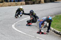 El actual campeón del mundo el canadiense Kevin Reimer ganó la primera prueba de la IDF - International Downhill Federation #40sk8 #puertorico #downhill #longboarding #longboard #idf