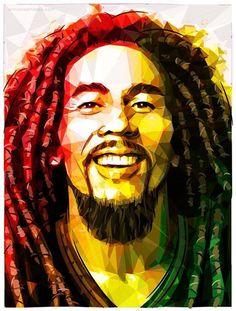 Bob Marley by Enrico Barrasso Bob Marley Painting, Bob Marley Art, Reggae Rasta, Rasta Art, Reggae Music, Banksy, Bob Marley Shirts, Bob Marley Pictures, Robert Nesta