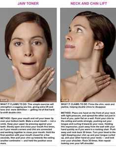 How do you get rid of neck fat and make your neck thinner? Learn the simple and effective remedies on how to get rid of neck fat fast at home. Also, with simple safe home remedies, you can eliminate face fat naturally. Yoga Facial, Face Yoga Exercises, Face Massage, Double Chin, Jawline, Health And Beauty Tips, Beauty Tricks, Tips Belleza, How To Get Rid