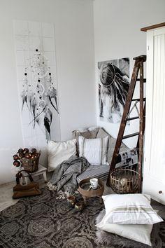 Interior Inspiration Boho Look