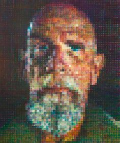 Chuck Close: 'Ideas come out of the work itself'