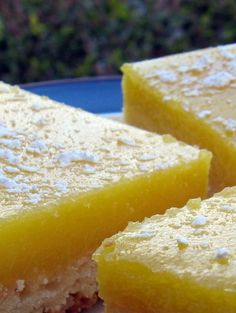 America's Test Kitchen Family Cookbook for ideas and decided that this lemon-intensive Lemon Bar recipe