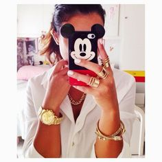 MICKEY mouse cover case iPhone Instagram - Snapchat @veronikagi