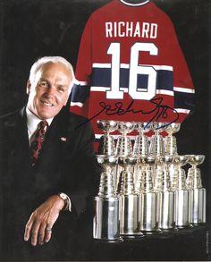 Henri Richard a entrepris sa carrière comme le « petit frère du Rocket », mais il n'est pas resté dans l'ombre de Maurice bien longtemps. Jugé trop petit à l'origine pour survivre au hockey robuste des années 1950, Henri a fait taire les critiques, se retirant après une illustre carrière qui l'a placé parmi les légendes du hockey.