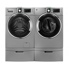Kenmore®/MD 4.1 cu. Ft. Front-Load Washer & 7.3 cu. Ft. Gas Dryer - Imperial Silver | Sears Canada