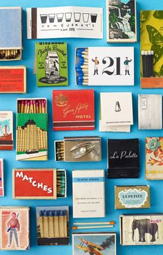matchbox collage from @katespadeny
