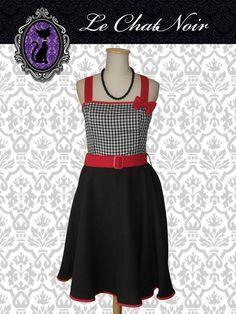 Vestido Margot PicNic c/negro #pinup #pinupdress #faldaplato #negro #black #vintage #retro #vestidopinup #ropa #indumentaria #pinup  #vestido #vintage #retro