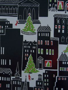 Vintage Christmas Wrapping Paper | Flickr - Photo Sharing!