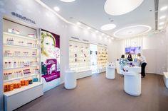 Gerovital stores by Morphoza, Romania » Retail Design Blog