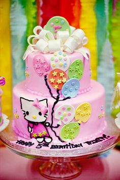 """Photo 5 of 41: Hello Kitty / Birthday """"Lil' Miss PURRFECT 5th Birthday""""   Catch My Party"""