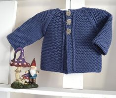 ecb7a56f34c94 Balina Top Down Cardigan- P133 Knitting pattern by OGE Knitwear Designs