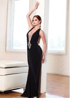 dfb14c234c9 Платья для фотосессий · Chic 150D Chiffon   Tulle Halter Neckline  Floor-length Sheath Prom Dress