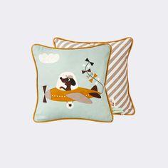 ferm LIVING webshop - Plane Cushion - Kids room