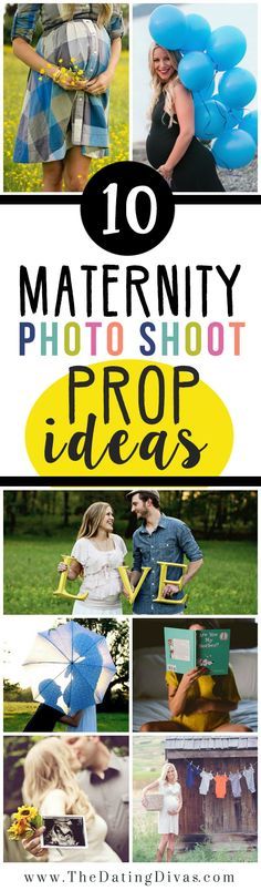 TONS of Maternity Photography Inspiration and Creative Prop Ideas. So in love with this! www.TheDatingDivas.com