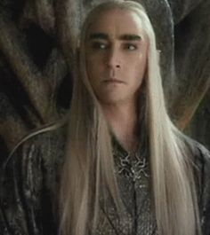 Thranduil - Don't you be worrying about that damn fortress, Tauriel!