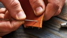 How to Sew Leather (and Other Tough Materials) | The Art of Manliness