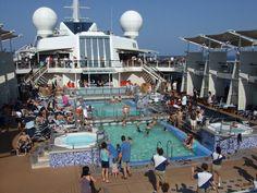 Celebrity Solstice Pool Deck