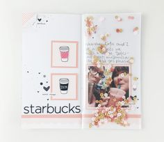 Pocket Page Notebook YouTube hop – Essie Ruth Diy Mini Album, Mini Albums, Bullet Journals, Art Journals, Commonplace Book, Life Page, Elizabeth Craft, Travel Planner, Crafty Projects