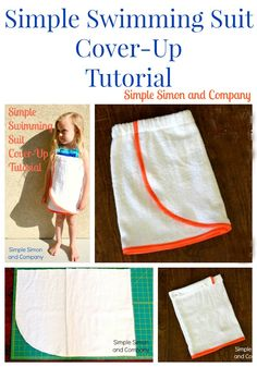 Easy Swimming Suit Cover Up Tutorial - Simple Simon and Company