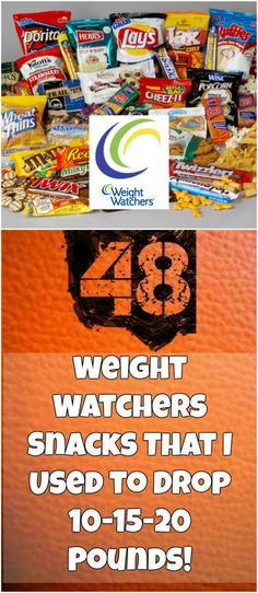48+Weight+Watchers+Snacks+That+I+Used+to+Drop+10-15-20+Pounds!