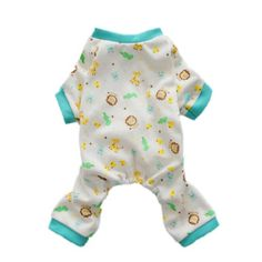 Cute Zoo Dog Pajamas for Dog Jumpsuit Comfy Soft Dog Pjs Dog Clothes, Small - http://www.thepuppy.org/cute-zoo-dog-pajamas-for-dog-jumpsuit-comfy-soft-dog-pjs-dog-clothes-small/