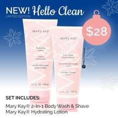 Mary Kay® Limited Edition Hello Clean Set #marykay www.marykay.com/tclaseman