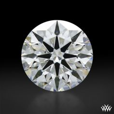 0.322 carat D color VS1 clarity A CUT ABOVE® Hearts and Arrows Super Ideal Round Cut Loose Diamond has Hearts & Arrows Ideal Proportions and a AGS Diamond Report. Price $853 www.whiteflash.com