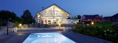 Show houses - HUF HAUS Prefabricated Houses, Prefab Homes, Kit Homes, Modern, Sweet Home, Asia, Germany, Europe, Mansions