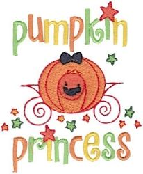 Cute Halloween 5 - 2 Sizes! | Princess | Machine Embroidery Designs | SWAKembroidery.com Bunnycup Embroidery