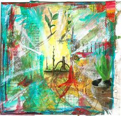 collage art images | My Own True Genius – Collage art – before and after | iHanna's ...