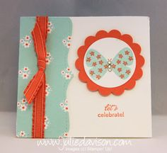 Julie's Stamping Spot -- Stampin' Up! Project Ideas Posted Daily: Top Note Flap Card