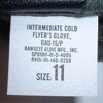 USAF US Air Force HAU-15 Cold Weather Flying Gloves Large | Militaria | WARSTUFF