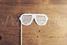 Felt Shutter Shades Photo Prop Shutter Glasses by Perfectionate