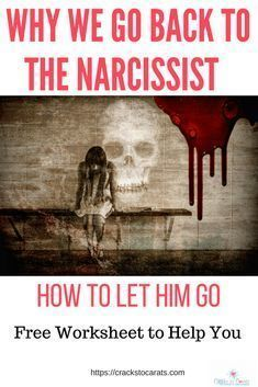 Why we go back to the narcissist and how to let him go! Not intentially going to any narcissist I being spiritually stalked