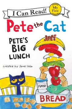 Pete the Cat: Pete's Big Lunch (My First I Can Read) -- More details can be found by clicking on the image. #CatKindleStore