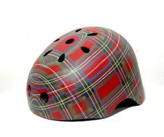 Custom Hand-Painted, One-of-a-Kind Bike Helmets by Belle Helmets and Accessories   Hatch.co