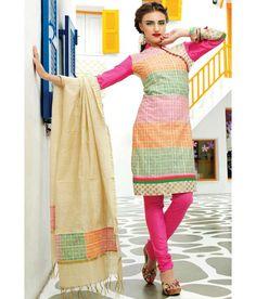 Utsav Fashion Green Printed Art Silk Stitched Regular Fit  Salwar Suit